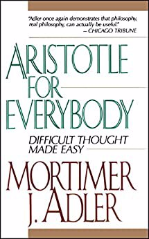 Full size cover page of the book 'Aristotle For Everybody'