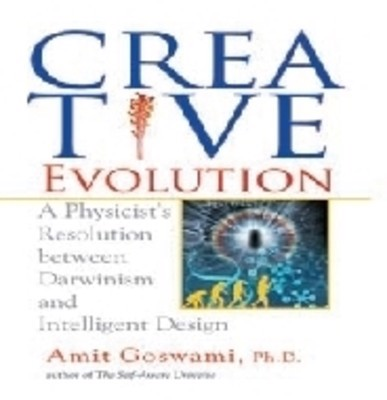 Full size cover page of the book 'CREATIVE EVOLUTION'
