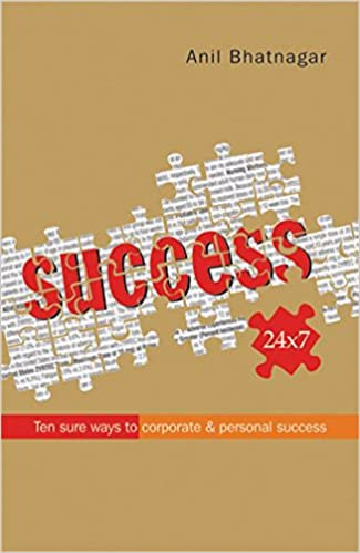 Full size cover page of the book 'Success 24x7 Ten Sure Ways To Corporate And Personal Success'