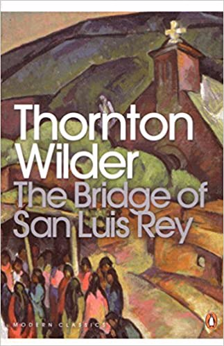 Full size cover page of the book 'Bridge Of San Luis Rey'
