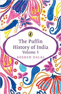Cover page of the book 'PUFFIN HISTORY OF INDIA VOLUME 1'