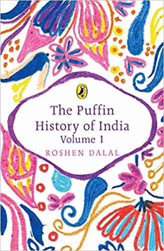 Full size cover page of the book 'PUFFIN HISTORY OF INDIA VOLUME 1'