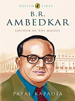 Full size cover page of the book 'PUFFIN LIVES: B R AMBEDKAR'