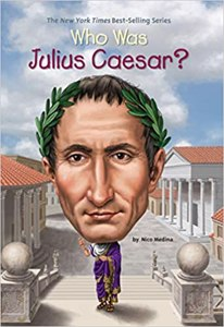 Cover page of the book 'WHO WAS JULIUS CAESAR?'