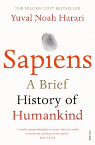 Cover page of the book 'SAPIENS'