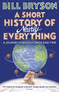 Cover page of the book 'SHORT HISTORY OF NEARLY EVERYTHING'