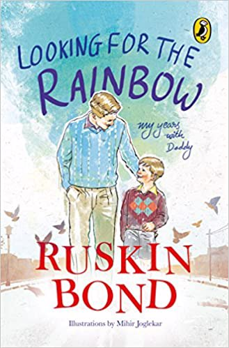 Full size cover page of the book 'LOOKING FOR THE RAINBOW'