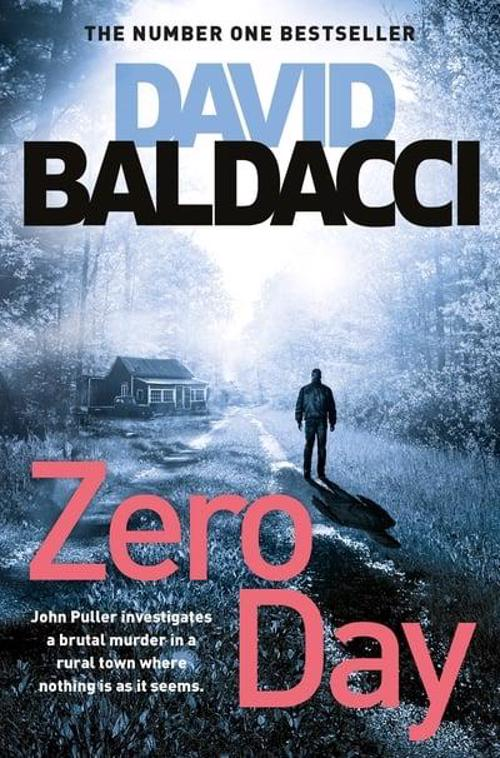 Full size cover page of the book 'ZERO DAY (JOHN PULLER SERIES)'