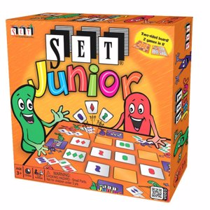 Cover page of the book 'SET Enterprises SET Junior- kids educational double sided board game 2-4 pl. multicolour 1300'