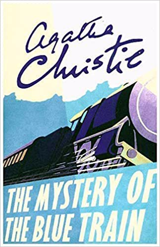 Full size cover page of the book 'MYSTERY OF THE BLUE TRAIN'