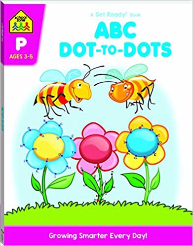 Full size cover page of the book 'ABC DOT TO DOTS'