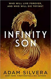 Cover page of the book 'Infinity Son'