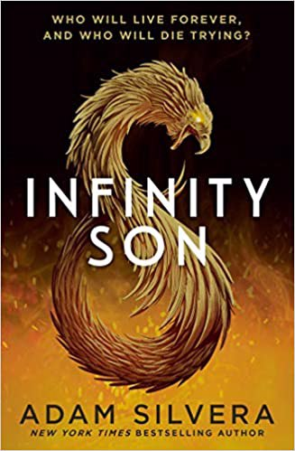 Full size cover page of the book 'Infinity Son'