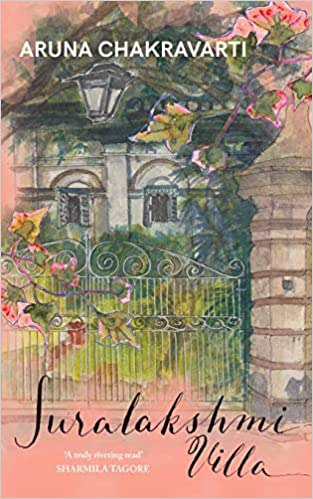Full size cover page of the book 'SURALAKSHMI VILLA'
