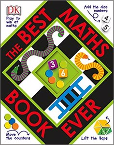 Cover page of the book 'THE BEST MATHS BOOK EVER'