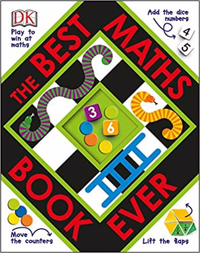 Full size cover page of the book 'THE BEST MATHS BOOK EVER'