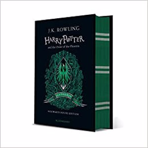Cover page of the book 'HARRY POTTER AND THE ORDER OF PHOENIX SLYTHERIN EDITION'