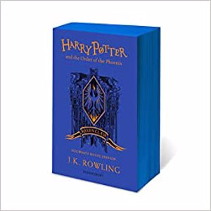 Cover page of the book 'HARRY POTTER AND THE ORDER OF THE PHOENIX RAVENCLAW EDITION'