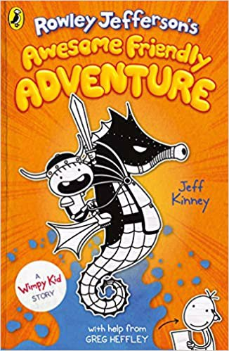 Full size cover page of the book 'ROWLEY JEFFERSONS AWESOME FRIENDLY ADVENTURE'