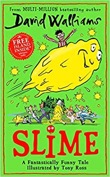 Full size cover page of the book 'SLIME'