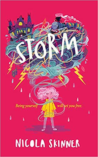 Full size cover page of the book 'STORM'