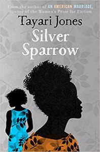 Cover page of the book 'SILVER SPARROW'