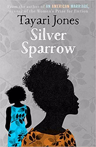 Full size cover page of the book 'SILVER SPARROW'