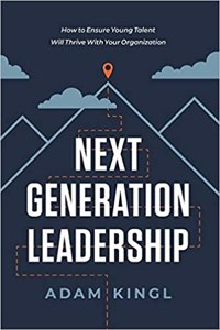Cover page of the book 'NEXT GENERATION LEADERSHIP'