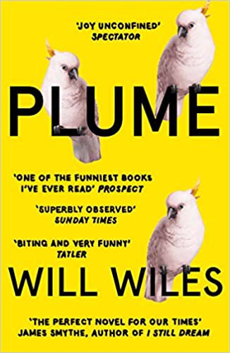 Full size cover page of the book 'PLUME'