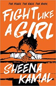 Cover page of the book 'FIGHT LIKE A GIRL'