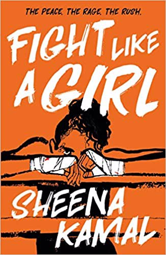 Full size cover page of the book 'FIGHT LIKE A GIRL'