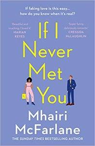 Cover page of the book 'IF I NEVER MET YOU'