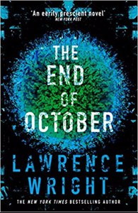 Cover page of the book 'THE END OF OCTOBER'