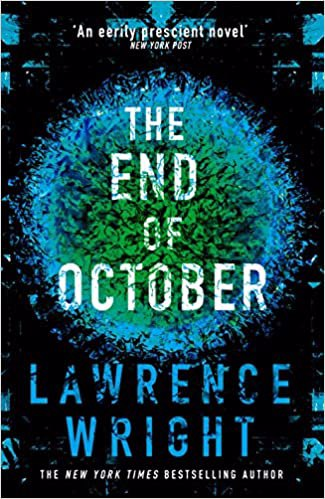 Full size cover page of the book 'THE END OF OCTOBER'