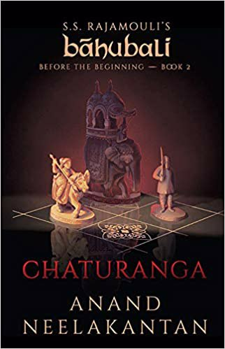 Full size cover page of the book 'CHATURANGA: BEFORE THE BEGINNING: BOOK 2'