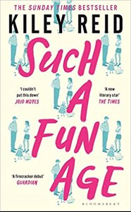 Cover page of the book 'SUCH A FUN AGE'