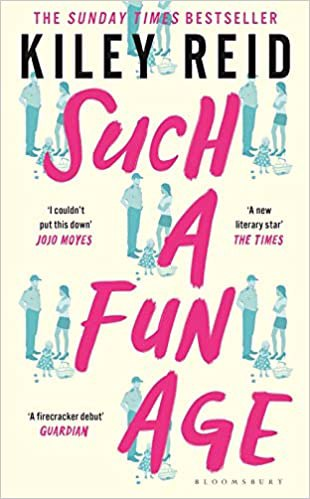 Full size cover page of the book 'SUCH A FUN AGE'